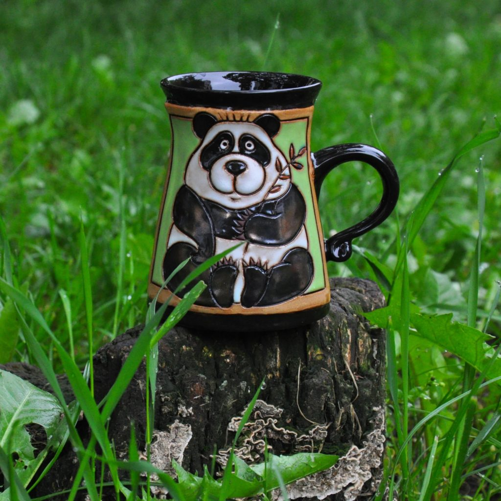 Чаша с панда