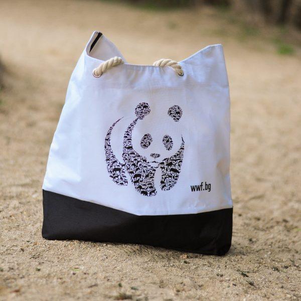 Плажна чанта на WWF