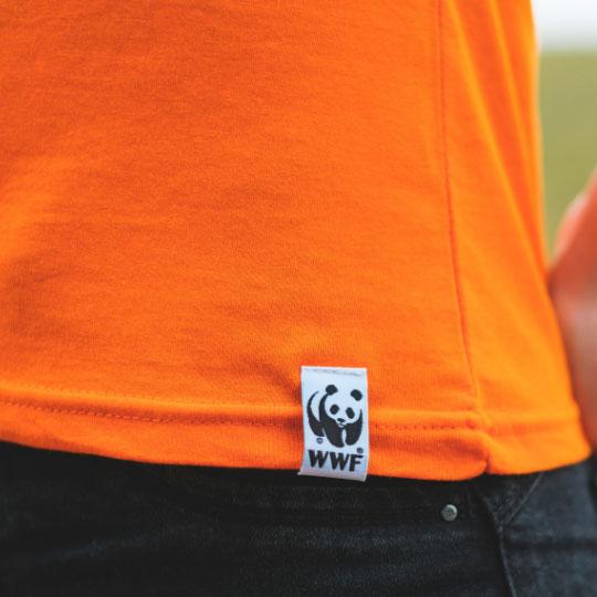 Дамска тениска Тигри оранжева етикет